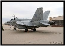 F-18A 162904 parked By John Gabor